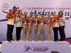亞洲青少年體操錦標賽 金門選手拿下5金