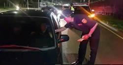 封閉台74道路 警3小時抓23起酒駕