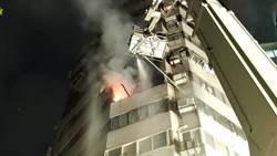 北市士林大廈9樓火警 傳有人受困