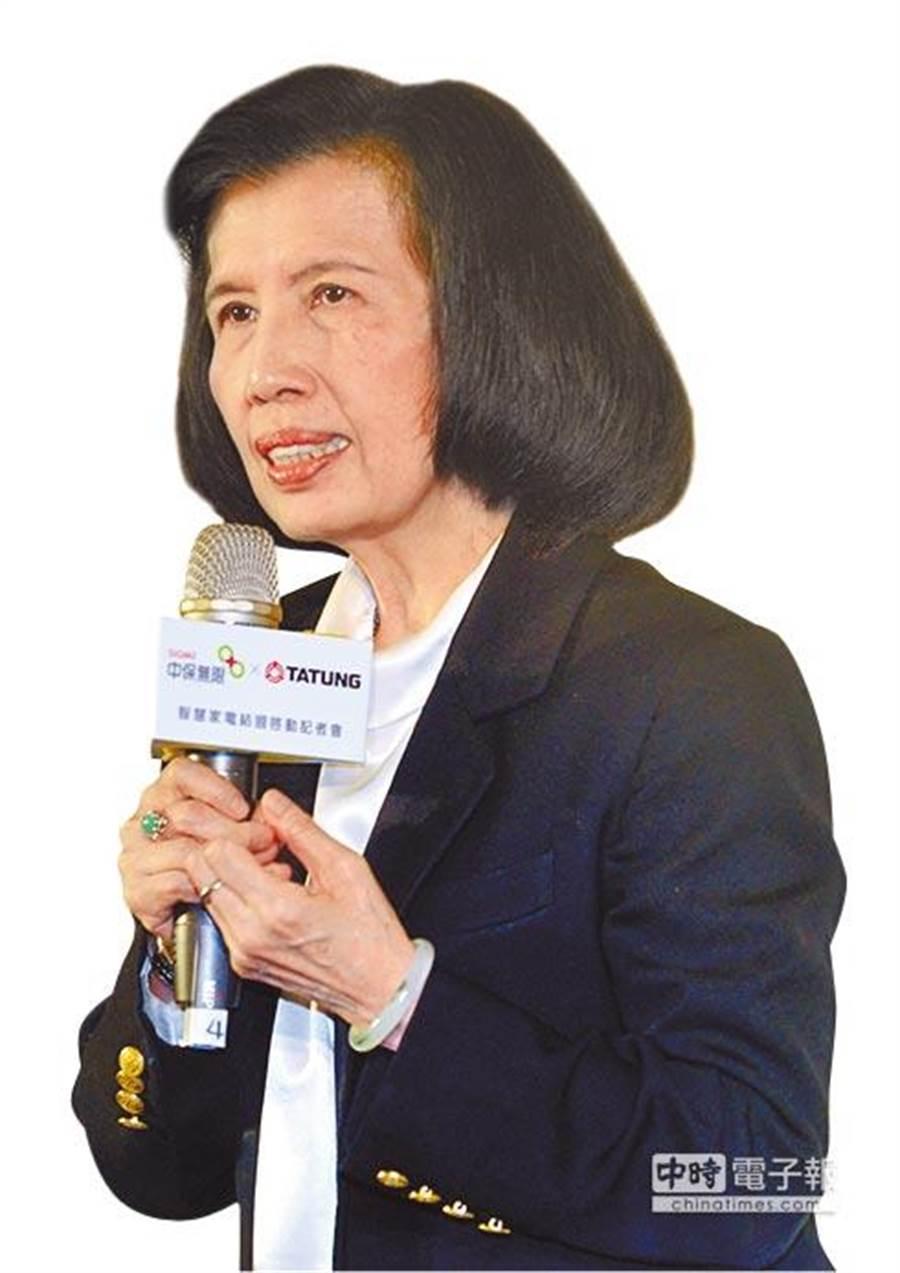 大同董事長林郭文艷。(圖/中時資料照)