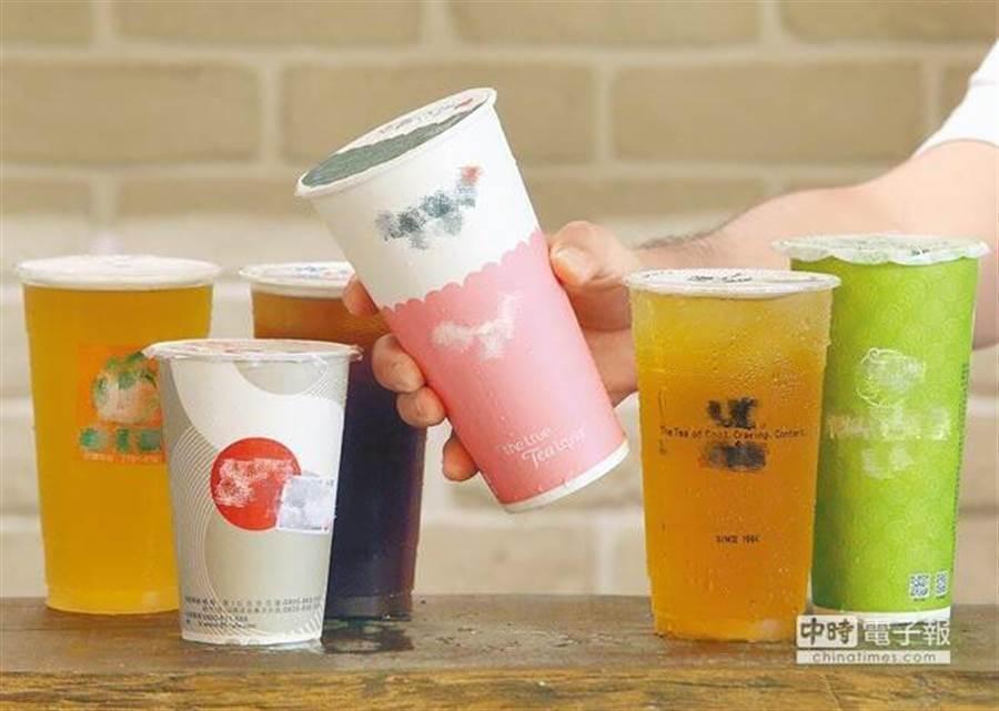 受惠消費習慣改變,飲料店營業額連續14年正成長,預估今年,預期全年可望突破1,000億元。(圖/中時資料照)