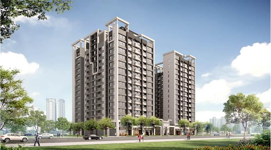 「樂捷市」擁有A7特區最大基地1848坪。圖/業主提供