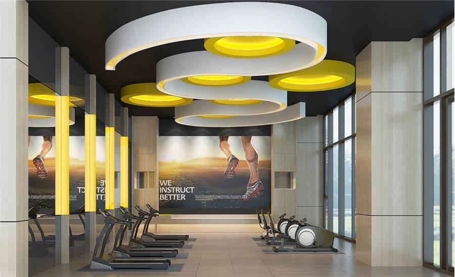 規劃五星級休閒會館,設施最豐富。圖/業主提供