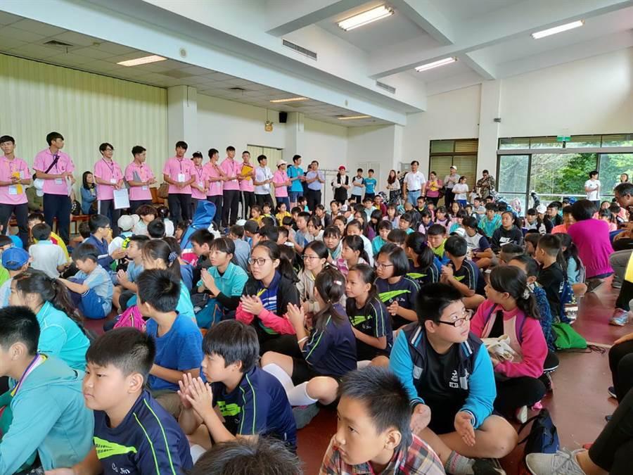 共有200多位選手參加花蓮縣長盃暨全運會代表選拔賽。(圖/中華高協提供)