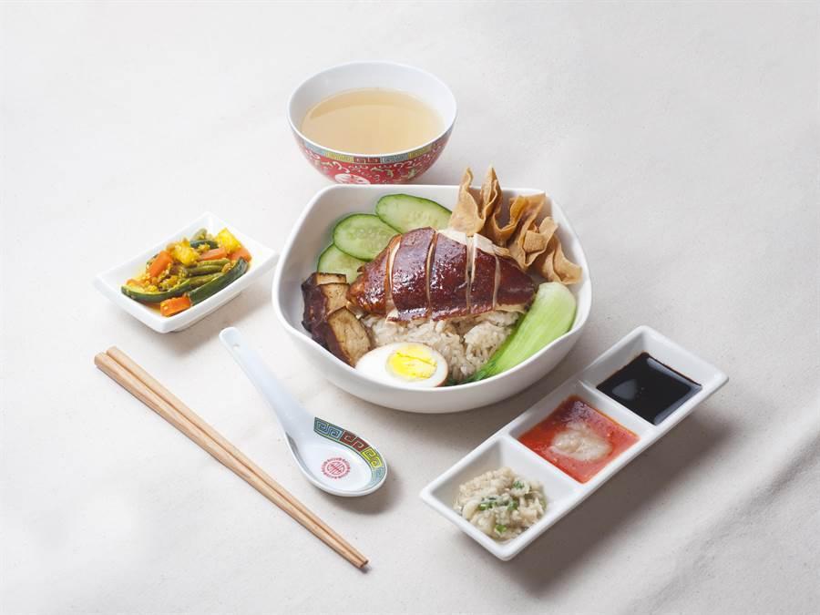 「海記醬油雞」招牌醬油雞套餐,170元。(SOGO提供)