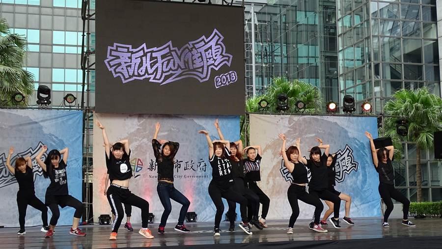 「2019年新北FUN街頭」系列活動「街舞推廣課程」即將於7月登場,將於板橋莊敬市民活動中心免費開6班。(葉書宏翻攝)