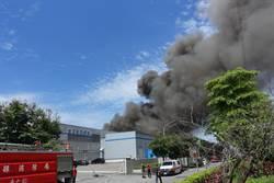 斗六銅箔公司火警 5公里外即見濃煙