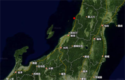 日本山形縣海岸規模6.8地震 發布海嘯預警