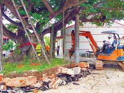 300歲老榕樹搬家 居民祈福