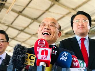 最新民調 過半數民眾滿意蘇貞昌內閣