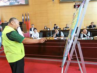 議員批沒願景 盧秀燕持施政白皮書反擊