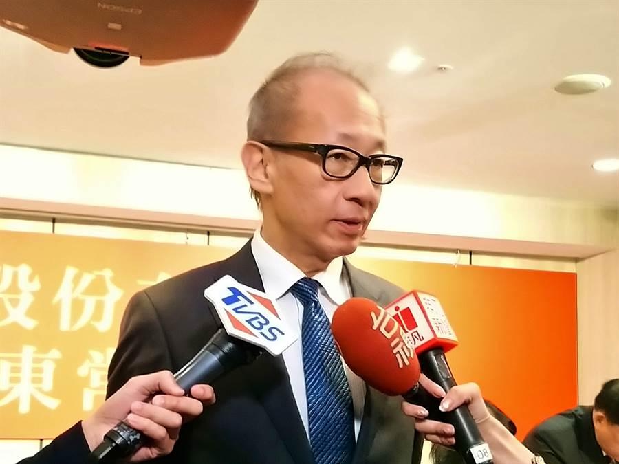 晶華國際酒店集團董事長潘思亮。(林資傑攝)