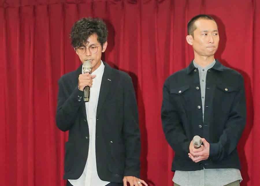 阿翔(左)、浩子。盧禕祺攝