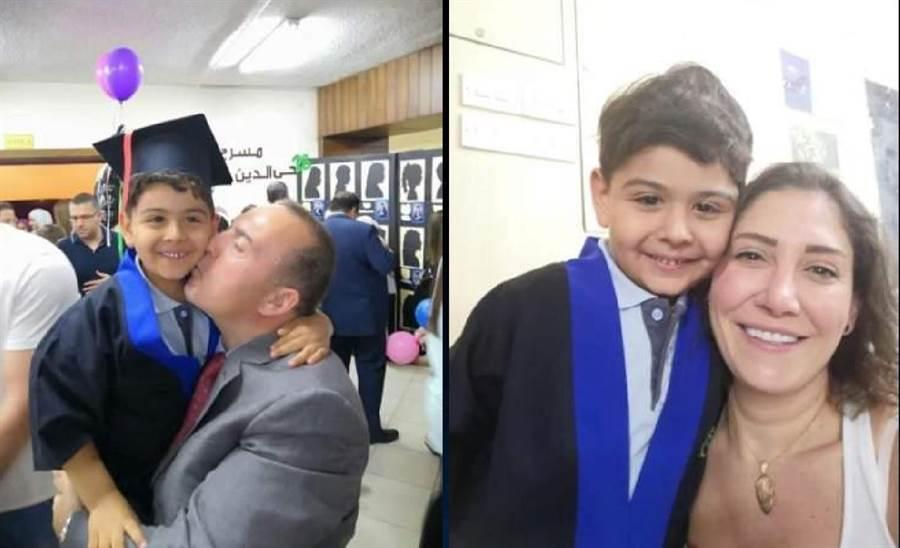 小王子Ameer的父母對他疼愛有加,細心呵護他長大。(圖/慈濟基金會提供)