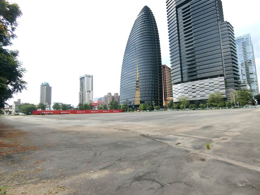台中市警察局已核淮22日挺韓大會場地申請,申請名稱為「庶民經濟園遊會」。(盧金足攝)