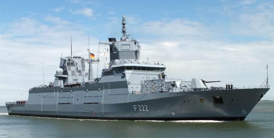 德國海軍巴登符騰堡號正式服役。(圖/德國海軍)