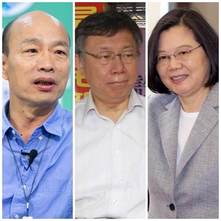 英国经济学人智库对于台湾2020年大选做出预测。 (图/资料照片合成)
