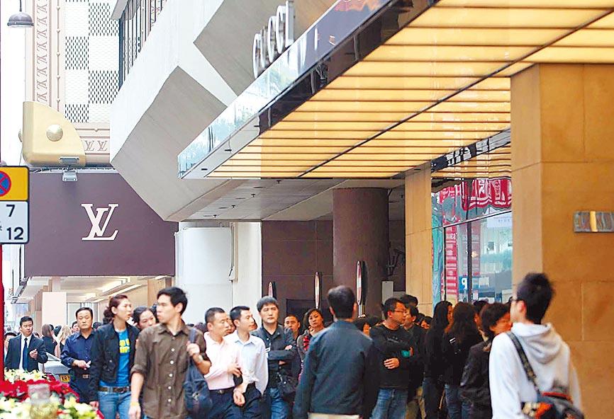 香港海港城的路易威登專賣店。(中新社資料照片)