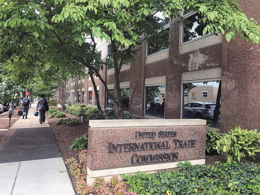 美國國際貿易委員會辦公大樓。(中新社資料照片)