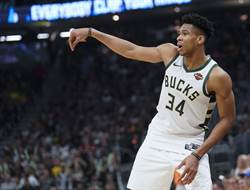 NBA》下季MVP賠率出爐 字母哥再稱王