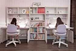 【媽媽圈好物分享】這套書桌椅可從小用到大! CP值破表