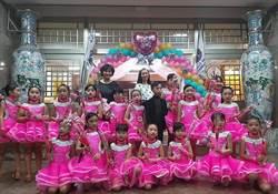 北辰國小國標舞課程 學童公益演出舞出自信