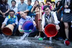 陳其邁視察三民疫區 韓國瑜親謝撥款