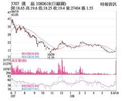 熱門股-漢磊 5G基地台訂單火熱