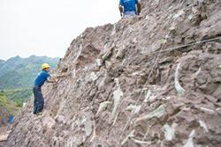 重慶恐龍化石長城 綿延18公里