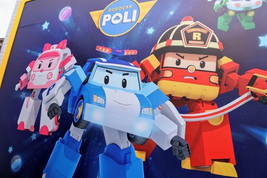 2011年開播的韓國動畫片《波力救援小英雄》受大小朋友喜歡。