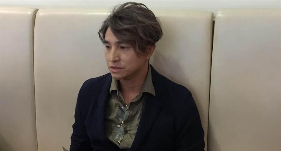 王少偉今早受訪談謝忻、小甜甜。洪秀瑛攝