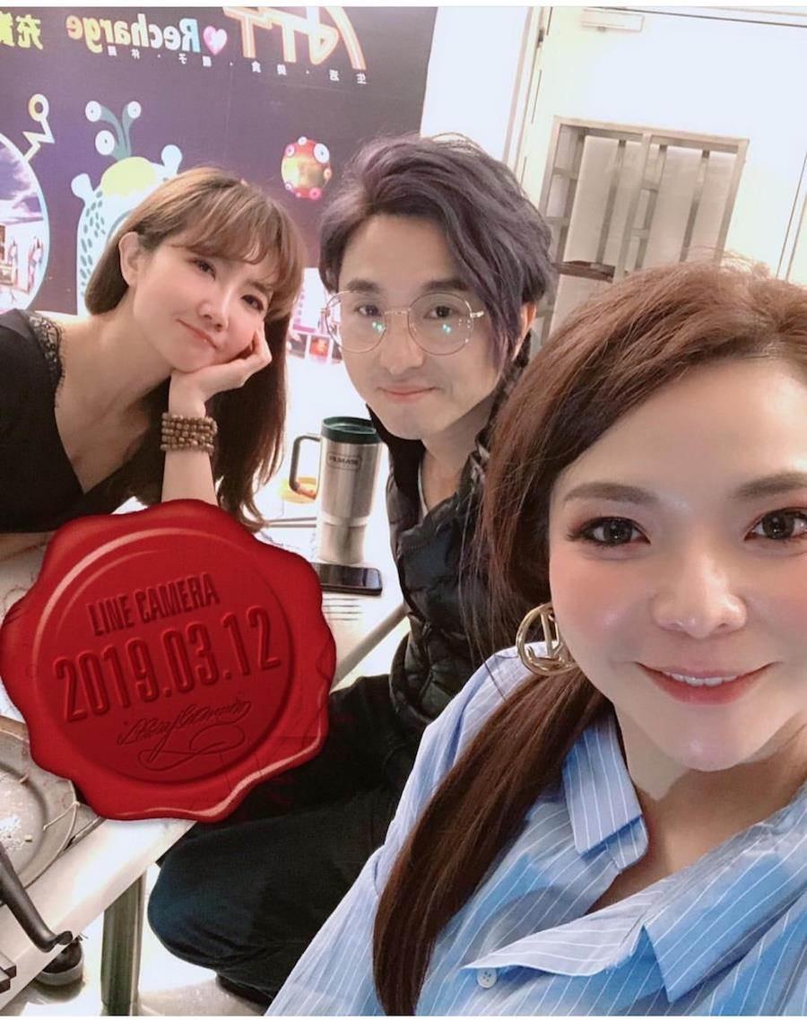 三人一直是好友,如今謝忻爆不倫戀,小甜甜和謝忻的友情也「變質」。取自臉書