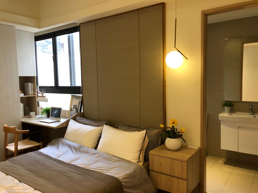 2房2衛房型特別受到購屋客喜愛。圖/莊雪慧攝。