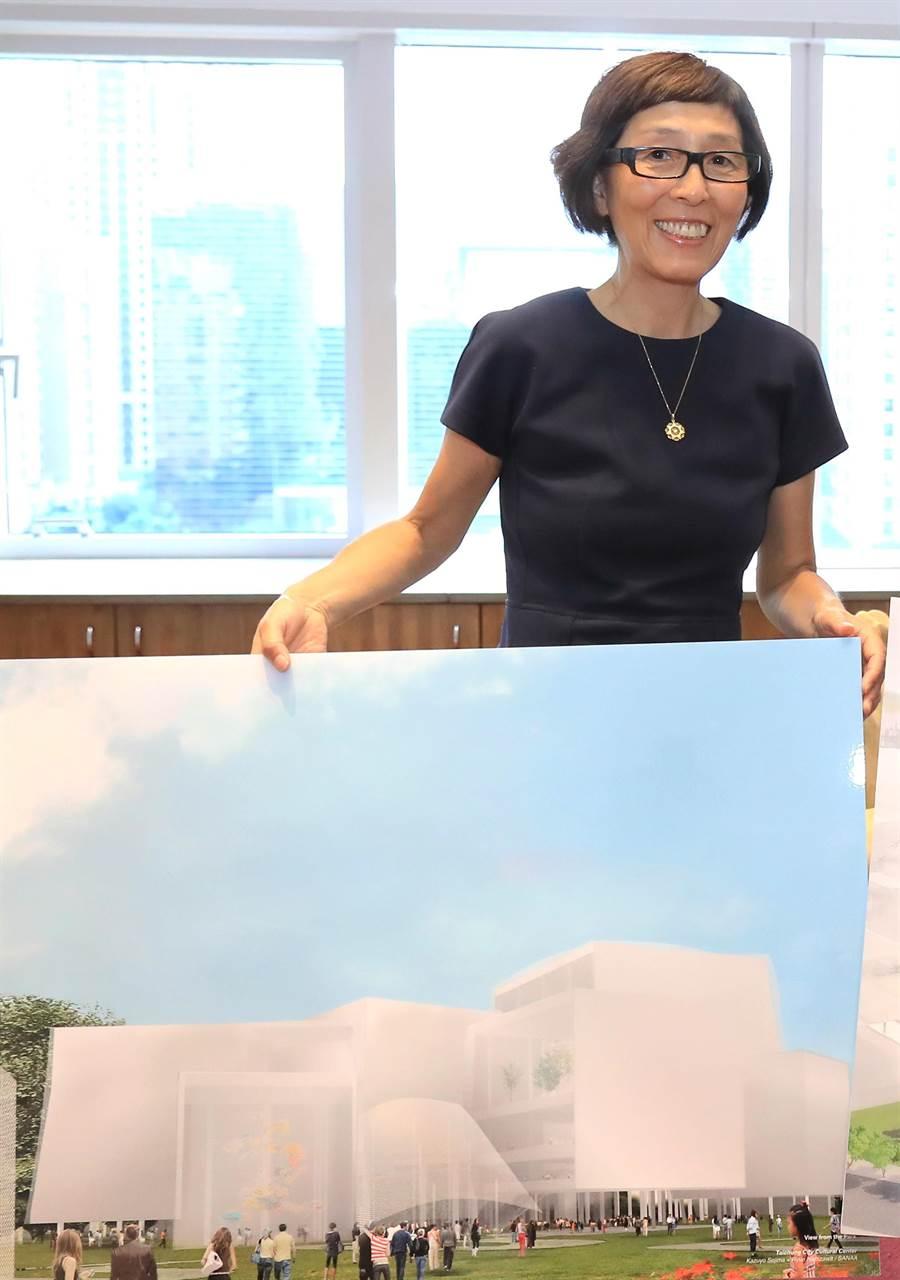 台中綠美圖由榮獲「普立茲克建築獎」的國際知名日本建築大師妹島和世設計。(盧金足攝)
