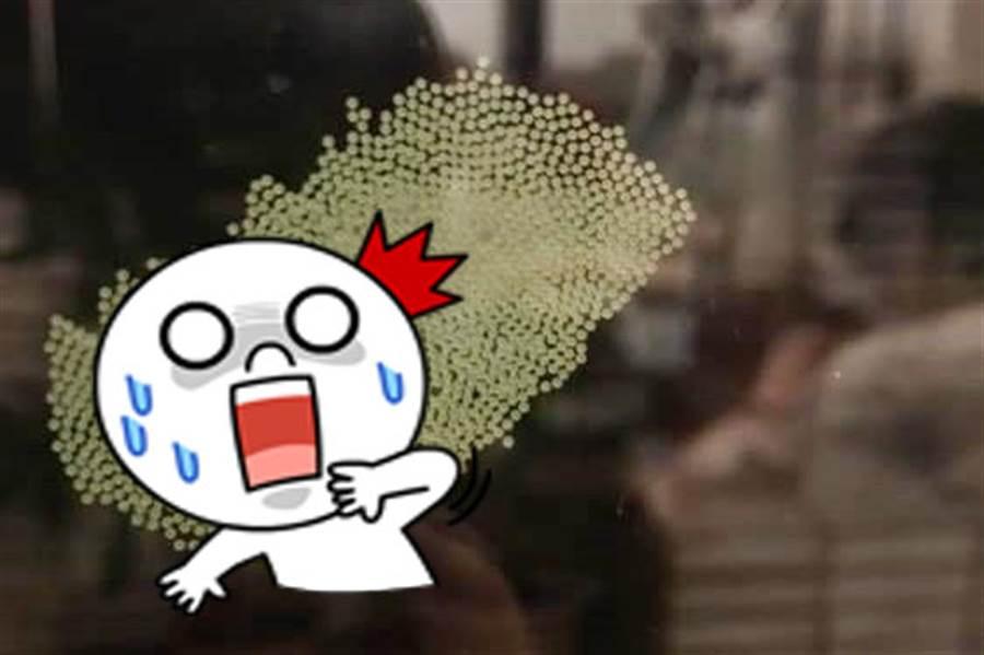 窗驚見百顆蟲卵 網勸快放火燒!(圖片取自/細說淡水FB)