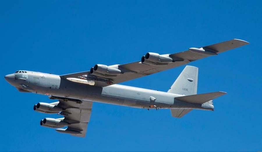 愛德華空軍基地公布6月12日的AGM-183A飛彈測試圖片與影片。(圖/Edwards AFB)