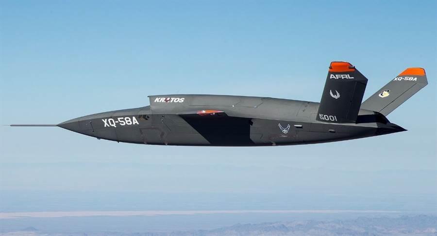 XQ-58A無人機,完成第2次試飛。(圖/美國國防部)