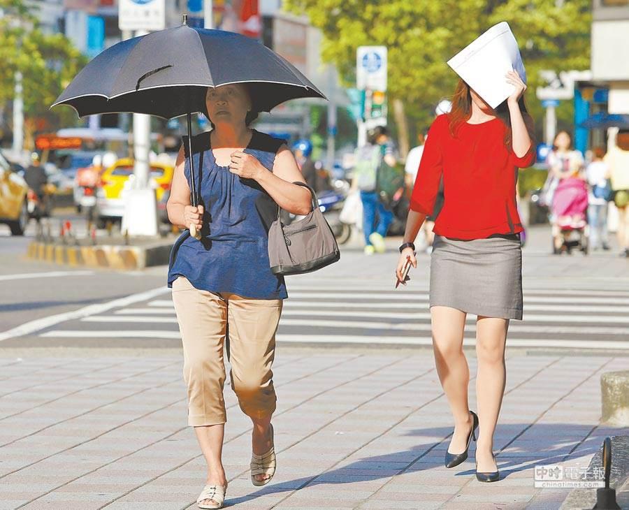 繼續爆汗!週四9縣市飆36°C 這天鋒面到才解熱。(資料照)