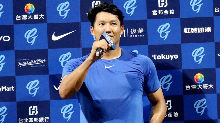 林哲瑄包辦5打點,賽後獲選為單場MVP。(富邦悍將提供)