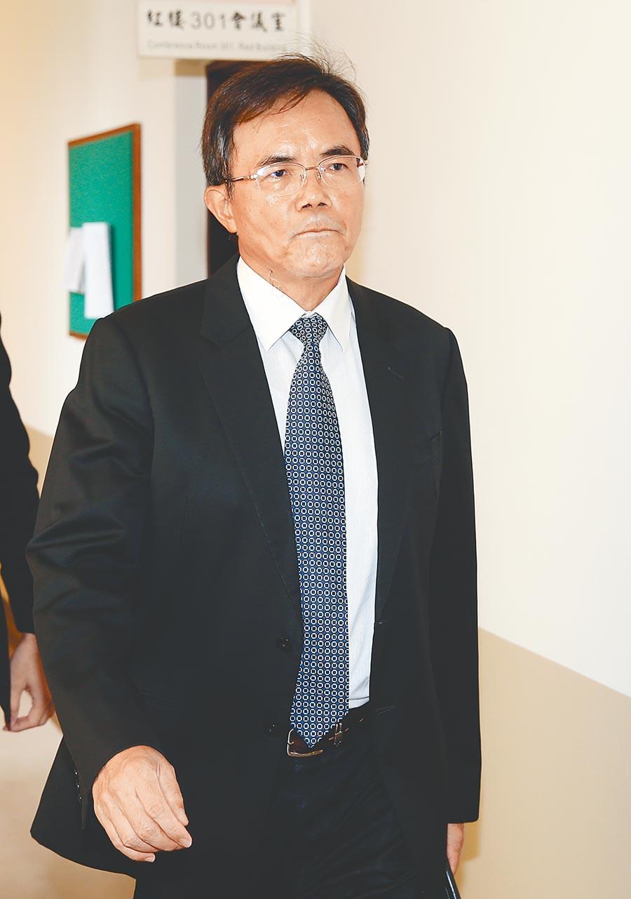 法務部次長蔡碧仲強調代理縣長期間,花檢未起訴傅。而且從未踏進花檢辦公室一步。(本報資料照片)