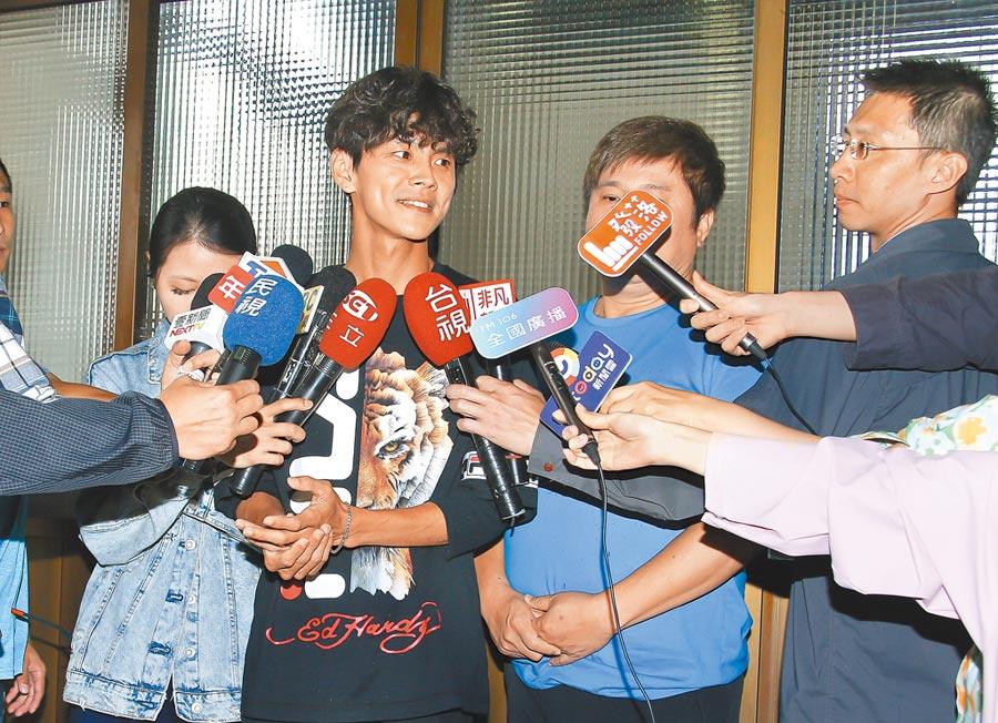 阿翔12日第一次道歉時曾被外界批不誠懇。(資料照片)