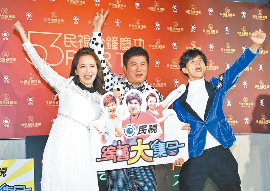 阿翔(右)和謝忻(左)是胡瓜的子弟兵。(資料照片)