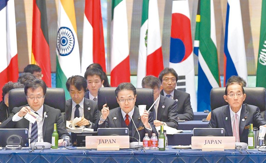 習近平訪日定調只出席大阪G20峰會,不是國是訪問,也不會見天皇。圖為6月15日,G20能源與環境部長級會議在日本長野舉行。(CFP)