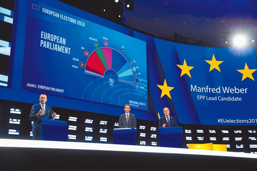 歐盟警告,去年全球貿易保護主義措施的數量創新高。圖為5月底歐洲議會選舉。(新華社)