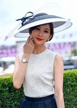 林志玲婚後首次現身 幸福全寫在臉上