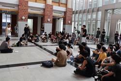 南藝大學生抗議校長清算、黑箱 紛擾持續