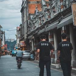 仿紐約警自製T恤 大溪分局IG上線