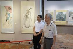 80歲首開畫展世界旅遊記憶躍然紙墨