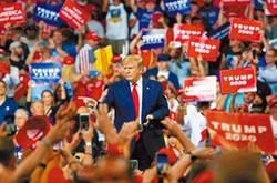 川普痛批民主黨要摧毀美國