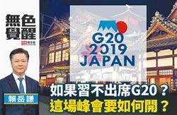 賴岳謙:如果習不出席G20?這場峰會要如何開?